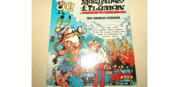 Mortadelo y Filemon - Tres cerebelos estrechos