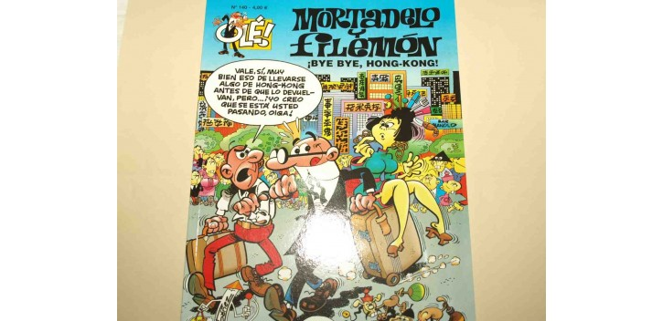 Mortadelo y Filemon - ¡Bye Bye, Hong-Kong!