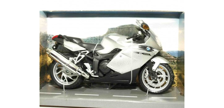 BMW K 1200 S escala 1/12 Joycity moto miniatura metal