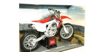 Honda CRF 450 R escala 1/12 Joycity moto miniatura metal