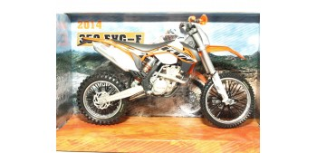 moto miniatura KTM 350 EXC-F 2014 escala 1/12 Joycity moto
