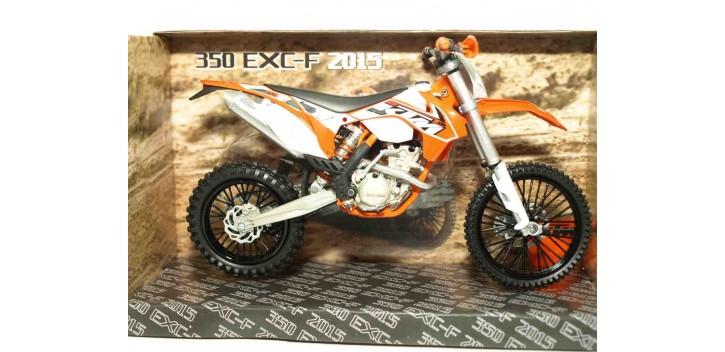 moto miniatura KTM 350 EXC-F 2015 escala 1/12 Joycity moto
