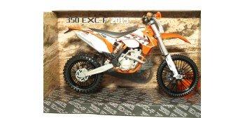 KTM 350 EXC-F 2015 escala 1/12 Joycity moto miniatura metal