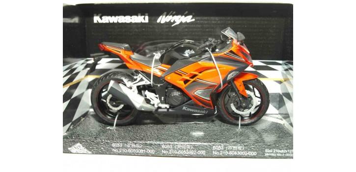 Kawasaki Ninja scala 1/12 Joycity moto miniatura metal