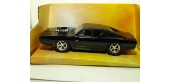 Dom`s Dodge Charger R/T Fast & Furious escala 1/32 Jada coche