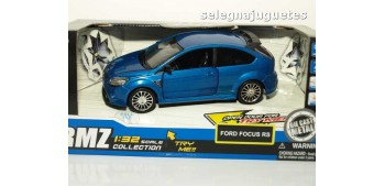 Ford Focus Rs azul escala 1/32 Rmz