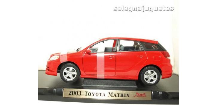 maquetas de coches Toyota Matrix 2003 rojo escala 1/18 Yat Ming