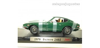 maquetas de coches Datsun 240Z 1970 oscuro escala 1/18 Yat Ming