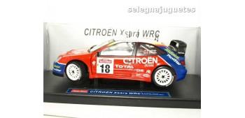 Citroen Xsara WRC Loeb San Remo 2003 escala 1/18 Sun Star coche miniatura metal