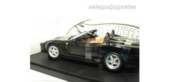 miniature car Ferrari 550 Barchetta Pinifarina negro escala
