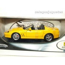 <p>MODELO: Ferrari 550 Barchetta Pinifarina amarillo</p> <p>MARCA: Hot Wheels</p> <p>ESCALA - SCALE - ECHELLE - MABSTAB: 1:18 - 1/18</p> <p> </p>