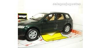 coche miniatura Volkswagen Touareg V10 TDI escala 1/18 Bburago