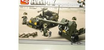 Sluban Flak M38-B5900 Jeep + antiaereo juego de piezas