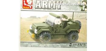 escala auto Sluban Jeep M38-B0296 Jeep juego de piezas