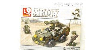 lead figure Sluban Jeep M38-B5800 Jeep juego de piezas