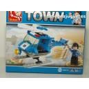 <p>Modelo:Sluban Police Helicopter M38-B0175</p> <p>Piezas:85</p>