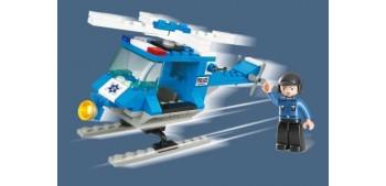 Sluban Police Helicopter M38-B0175 Helicoptero de Policia juego de piezas