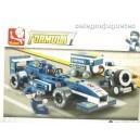 <p>Modelo:Sluban F1 Racing Car</p> <p>Piezas:196</p>