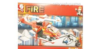 Sluban rescue Helicopter M38-B0218 Helicoptero de Bomberos juego de piezas
