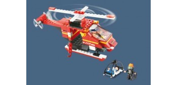 Sluban rescue Helicopter M38-B0218 Helicoptero de Bomberos