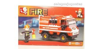 Sluban Fire Truck M38-B0276 Camión de Bomberos juego de piezas