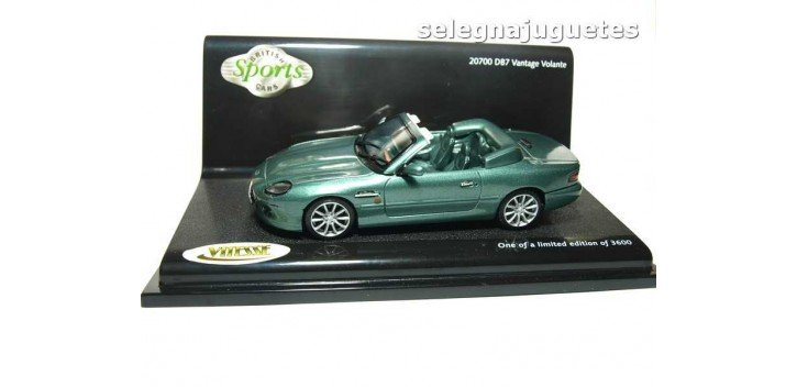 coche miniatura Aston Martin Db7 Vantage Volante A.M. Racing