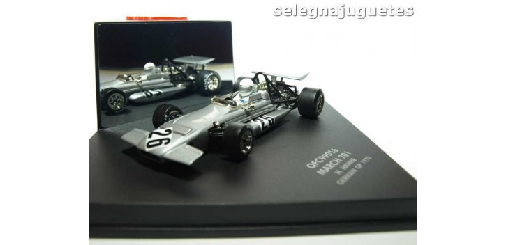 coche miniatura March 701 H. Hahne German (Alemania) GP 1970