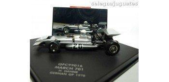 March 701 H. Hahne German (Alemania) GP 1970 escala 1/43 Quarzo Formula 1