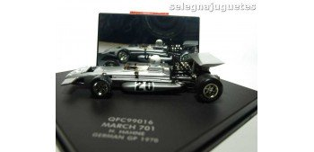 MARCH 701 H. HAHNE - GERMAN GP 1970 - 1/43 QUARZO