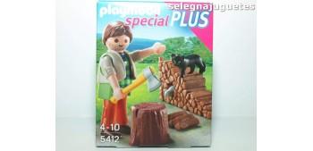 Playmobil - Leñador 5412