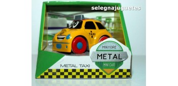 miniature car Coche Taxi amarillo producto infantil