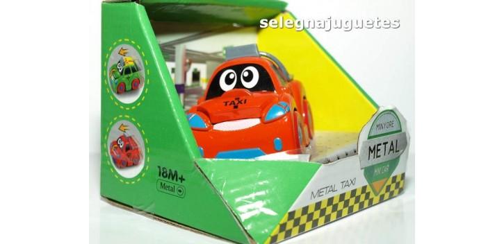 Coche Taxi rojo producto infantil