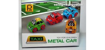 coche miniatura Coche Taxi rojo producto infantil
