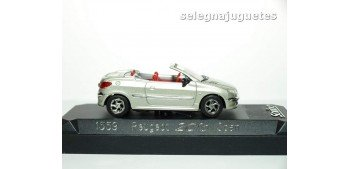 miniature car PEUGEOT 206 OPEN - 1/43 SOLIDO