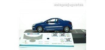 Peugeot 206 Personalizable Rally escala 1/43 Fabricante Solido (vitrina dañada)