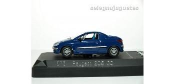 miniature car Peugeot 206 Personalizable Rally escala 1/43
