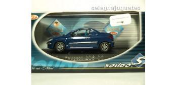 coche miniatura Peugeot 206 Personalizable Rally escala 1/43