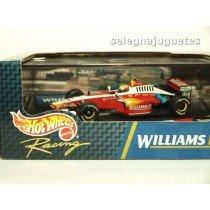 <p>MODELO:<strong>Williams F1 21 Ralf Schumacher</strong></p> <p>FABRICANTE: <strong>HOT WHEELS</strong></p> <p>ESCALA - SCALE - ECHELLE - MABSTAB: <strong>1/43 - 1:43</strong></p>