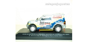 Mitsubishi Pajero Dakar 2001 Shinozuka Gallagher 1/43 (defecto vitrina)