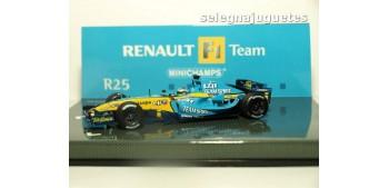 miniature car Renault F1 Team R25 G. Fisichella escala 1/43