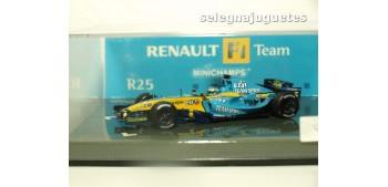 coche miniatura Renault F1 Team R25 G. Fisichella escala 1/43