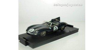 Jaguar D type Le Mans 1957 Ivor Bueb escala 1/43 Brumm