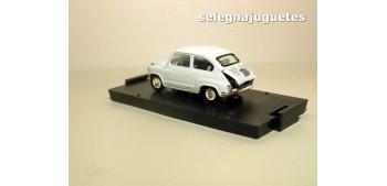 miniature car Fiat 600 Derivazione Abarth 750 1956 escala 1/43