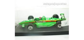 coche miniatura Lola 93 Eddie Cheever escala 1/43 onyx