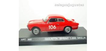 coche miniatura Alfa Romeo Sprint 1956 1000 Miglia escala 1/43