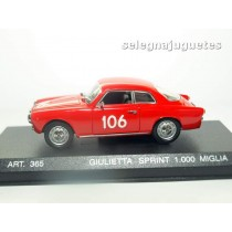 <p>MODELO - MODEL - MODÈLE: <strong>Alfa Romeo Sprint 1956 1000 Miglia</strong></p> <p>FABRICANTE - MANUFACTURER - FABRICANT: <strong>DetailCars</strong></p> <p>ESCALA - SCALE - ECHELLE - MABSTAB: <strong>1/43 - 1:43</strong></p> <p> </p> <p> </p>