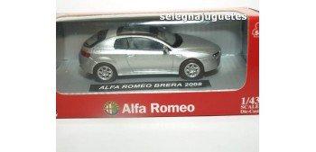Alfa Romeo Brera 2008 gris escala 1/43 New Ray coche miniatura metal