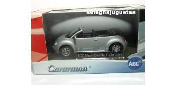 Volkswagen New Beetle cabriolet gris escala 1/43 cararama