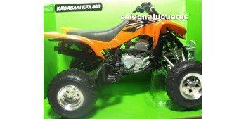 lead figure Kawasaki KFX 400 Quad 1/12 New ray moto miniatura