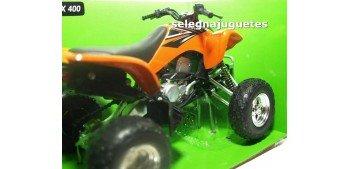 Kawasaki KFX 400 Quad 1/12 New ray moto miniatura